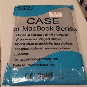 Plastic laptop case